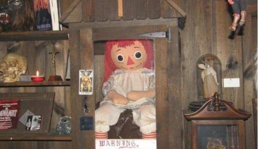 呪いの人形「アナベル」は実在する!ラガディ・アン人形に取り憑いた少女の霊による怪奇現象の数々