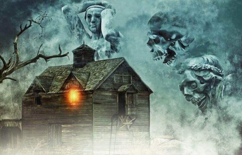 霊が集まる家