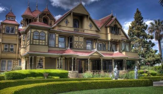 38年に及ぶ謎の増築、実在する幽霊屋敷「ウィンチェスター・ミステリー・ハウス」を解説!