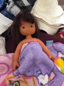 少女の人形