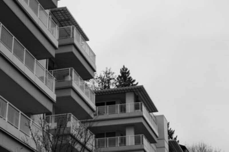 近代的なマンション