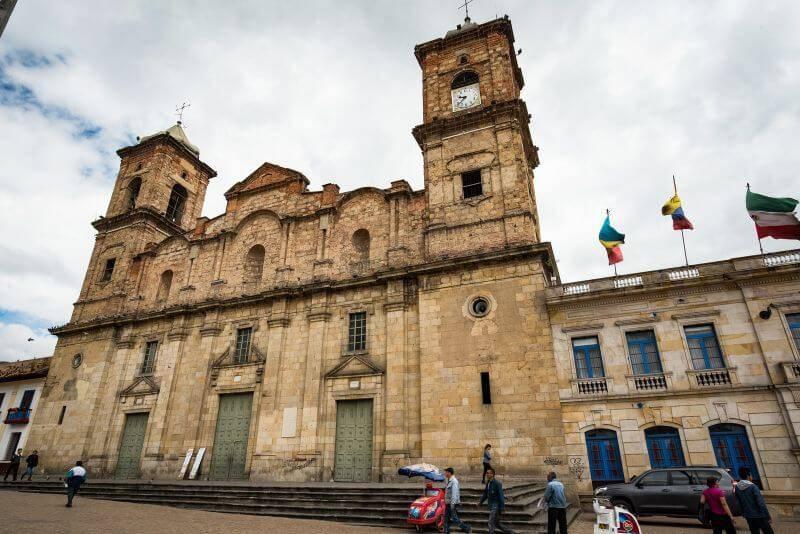 コロンビアの街