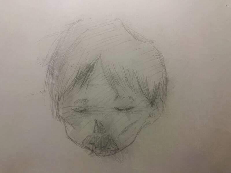 幼児のミイラ
