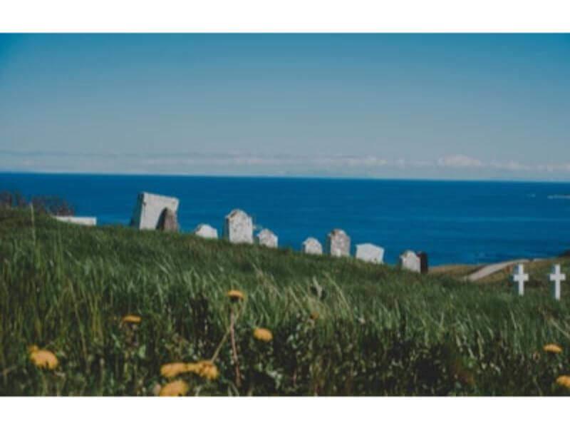 海の見えるお墓